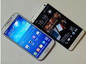 Samsung Galaxy S4  vs HTC One : quel est le meilleur Smartphone multimédia ?