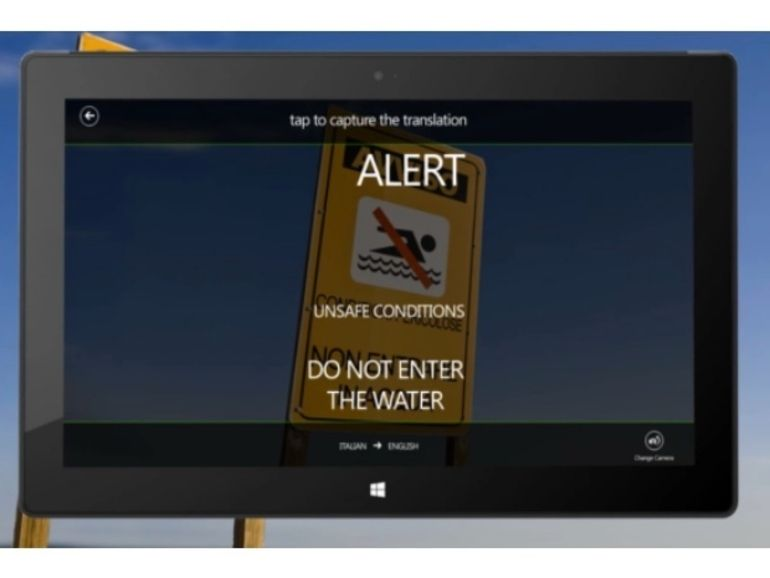 Bing Translator arrive sur Windows 8 et RT