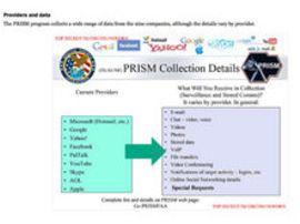 Les géants du web : open bar pour la NSA ?