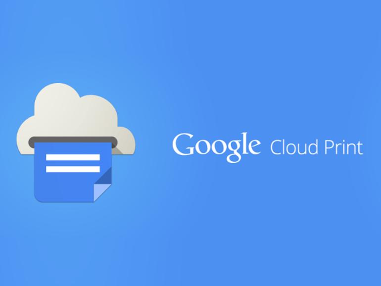 Cloud Print : l'appli Google Android pour imprimer dans le nuage