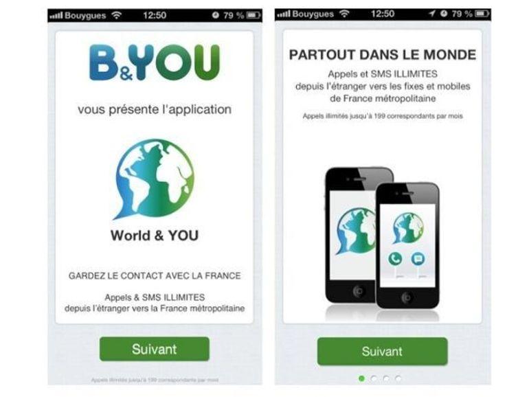 B&You lance une application pour communiquer gratuitement depuis l'étranger