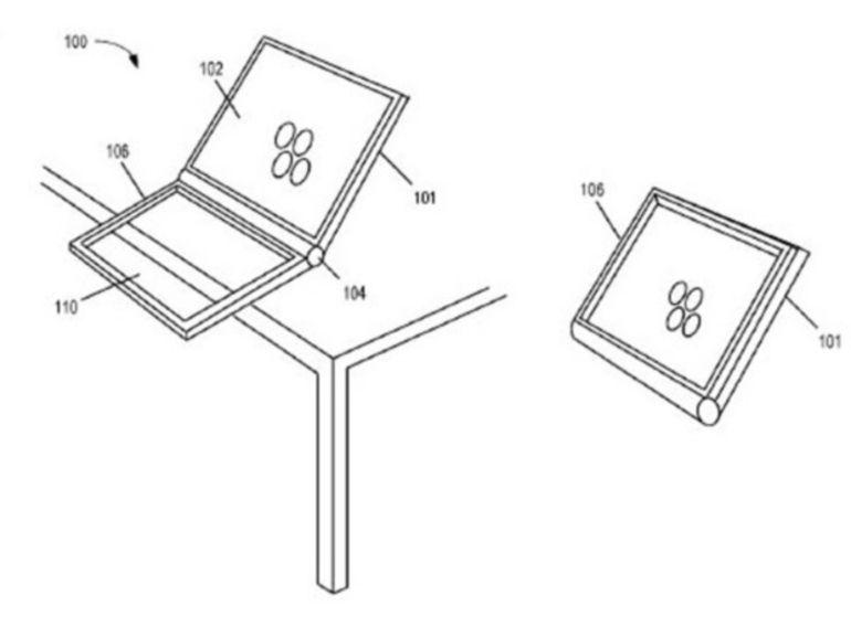 Apple dépose un brevet pour un pavé tactile double face