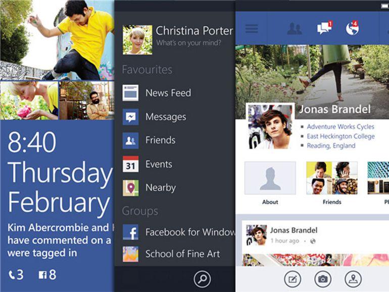 Facebook pour Windows Phone sort de sa bêta