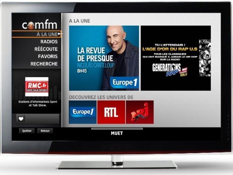 """SFR lance son service """"Radios à la demande"""""""
