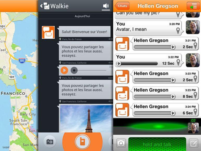 Voxer : l'application talkie-walkie