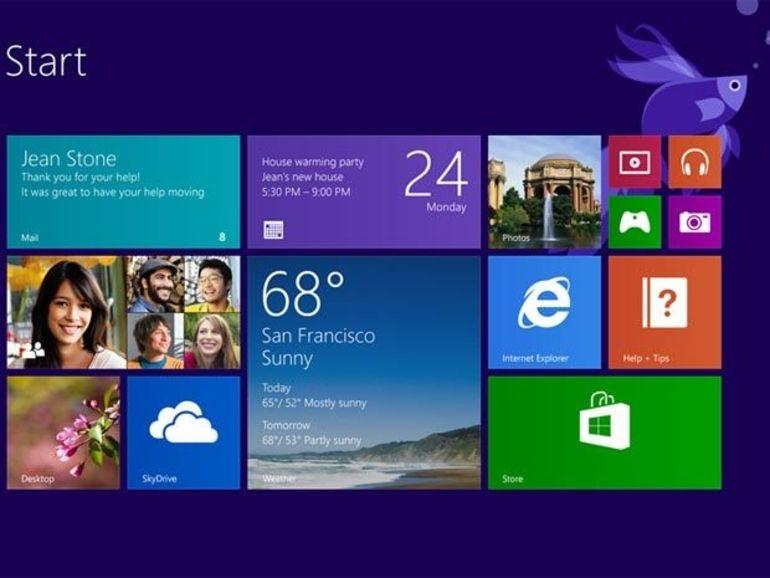 Windows 8.1 : mise à jour en octobre ?