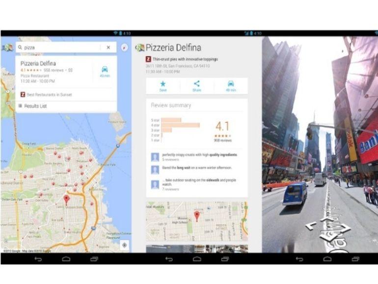 Google Maps s'offre une nouvelle interface