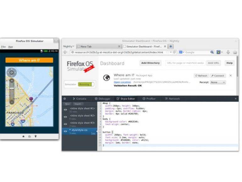 Firefox met à jour son simulateur d'OS