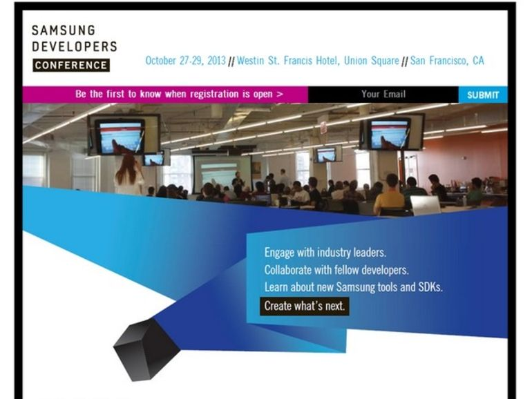 Samsung annonce sa propre conférence des développeurs