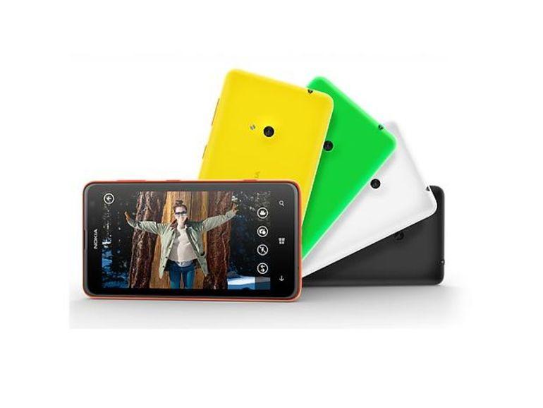 Nokia Lumia 625: Un smartphone 4G de grande taille à petit prix