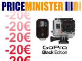 20 € de remise Price Minister : la GoPro HERO3 Black Edition à 339,99 €