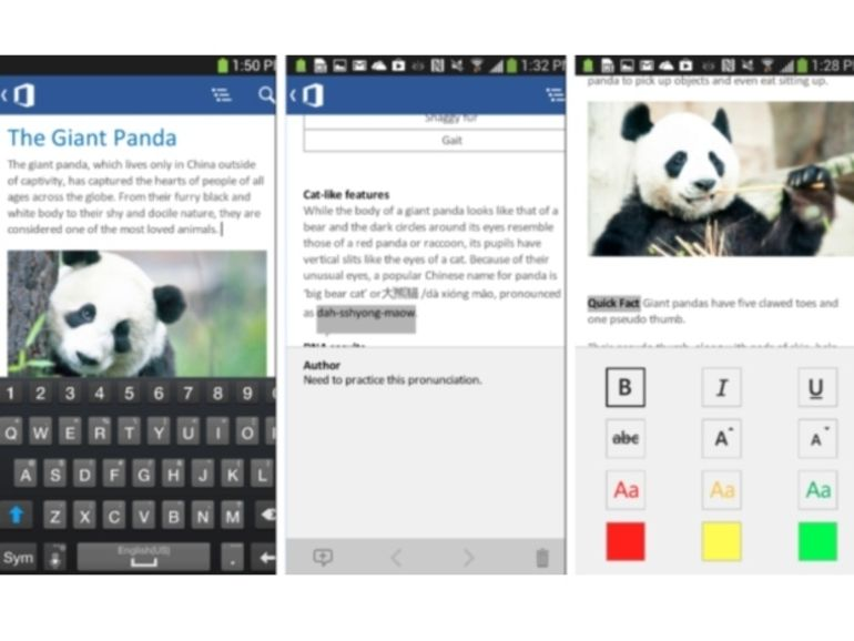 Microsoft Office arrive sur les smartphones Android