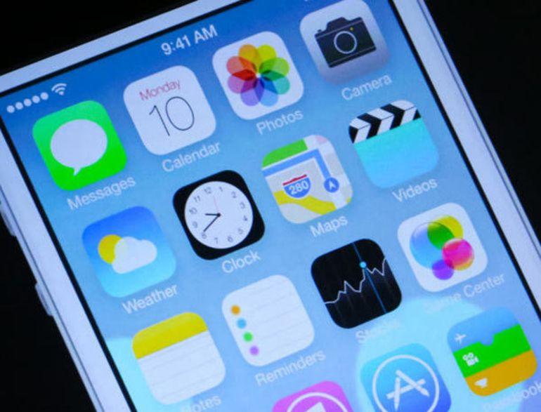 Les applications Apple se refont une beauté pour iOS 7