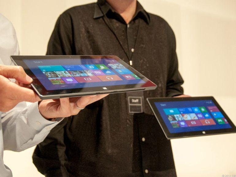 La tablette Microsoft Surface 2 en cours de développement selon Nvidia