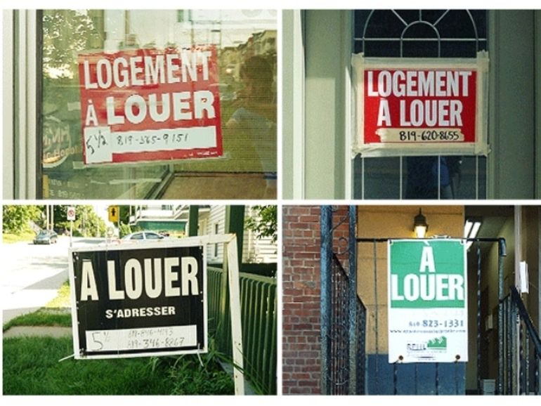 Une pancarte mobile pour stimuler l'immobilier