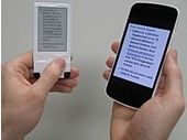 Un écran à encre électronique alimenté sans fil via une puce NFC