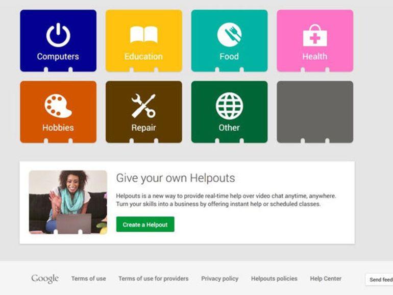 Google Helpouts : des experts répondent à vos questions et problèmes du quotidien