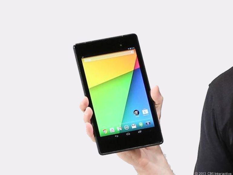 La Nexus 7 (2013) est disponible en France