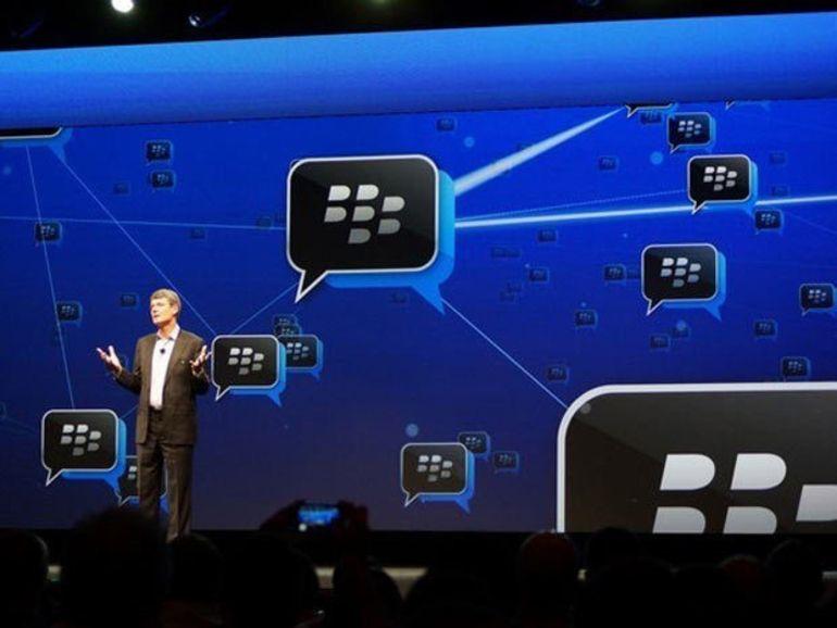 L'application BBM est disponible sur Android mais elle ne fonctionne pas