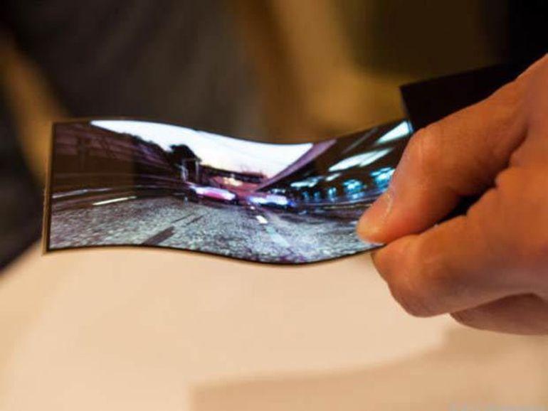 Le marché des écrans OLED flexibles va exploser l'année prochaine