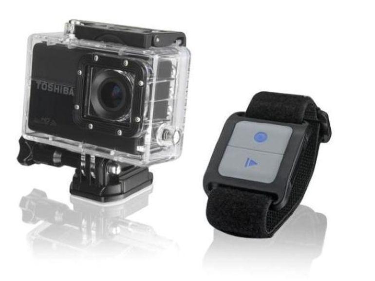 IFA 2013 : Toshiba présente son action cam, la Camileo X-Sports