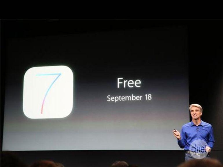 iOS 7 : Apple teste déjà les 2 prochaines versions