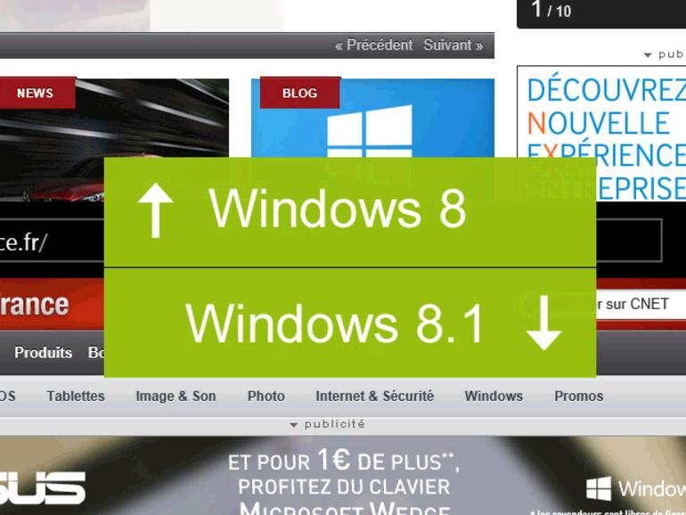 Windows 8.1 : prix, compatibilité, date de sortie, mise à jour...