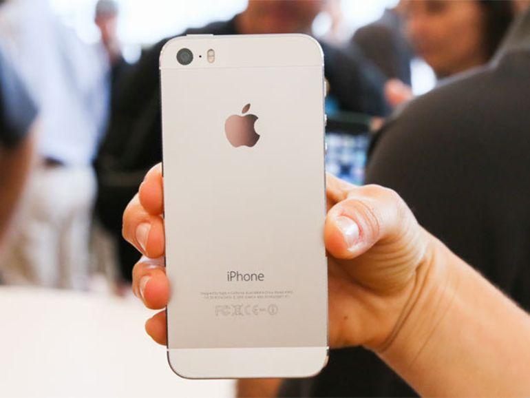 iPhone 5S : le capteur photo vient de chez Sony