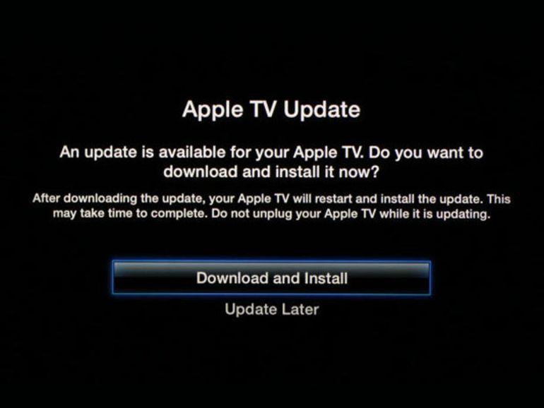 Apple TV : la mise à jour 6.0 avec iTunes Radio et le streaming via iCloud suspendue