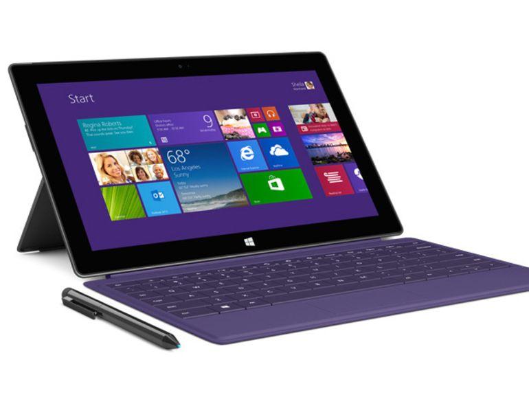 Microsoft Surface Pro 2, PC de travail et tablette tactile