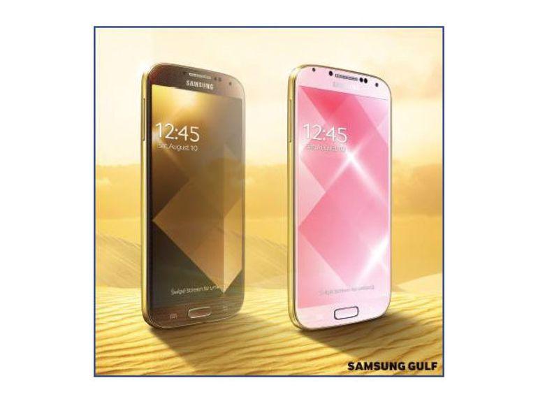 Le Samsung Galaxy S4 bientôt disponible en Gold Edition