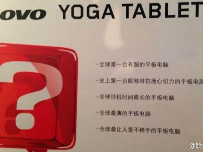 Lenovo prépare la tablette la plus fine du marché