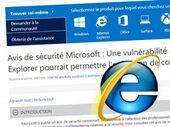 Internet Explorer : une vulnérabilité dans les mains des pirates