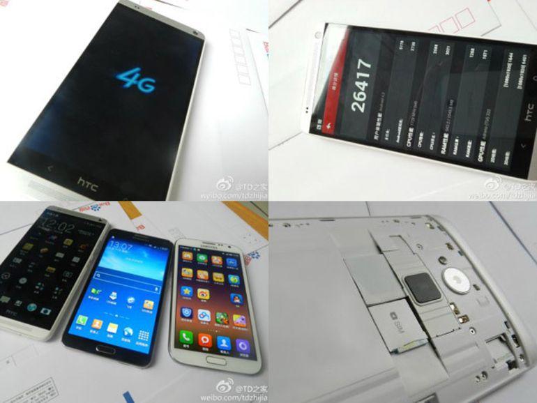 Le HTC One Max : un lecteur d'empreinte au dos de l'appareil ?