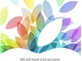 Apple présentera ses nouveaux iPad le 22 octobre
