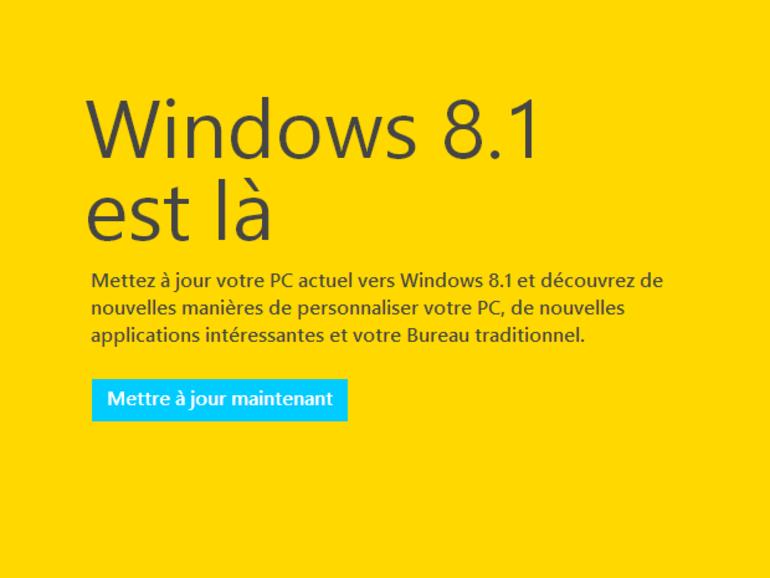 Windows 8.1 est là : nouveau système ou simple mise à jour ?
