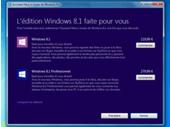 Windows 8.1 à télécharger ou acheter : l'assistant de mise à niveau est disponible
