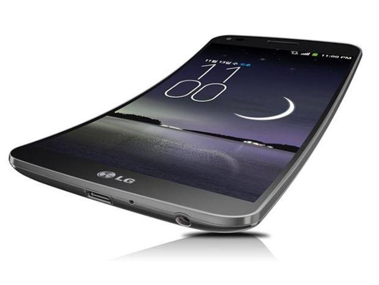 Le LG G Flex sera vendu aux Etats-Unis en 2014