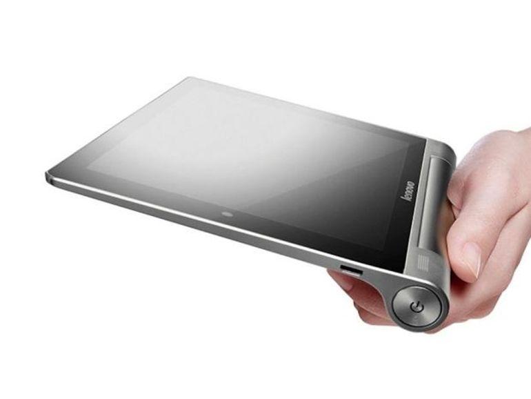Lenovo présente ses tablettes Yoga Tablet 8 et 10