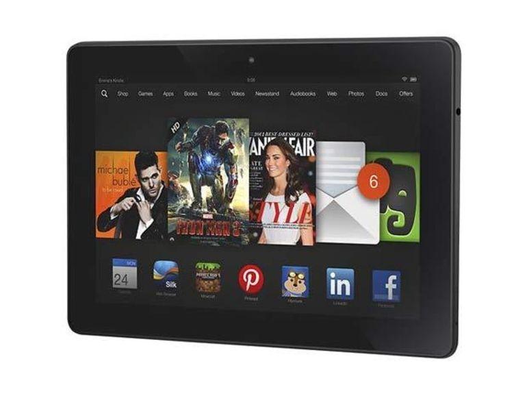 Kindle Fire HDX vs iPad Air : avantage Amazon pour la qualité d'écran