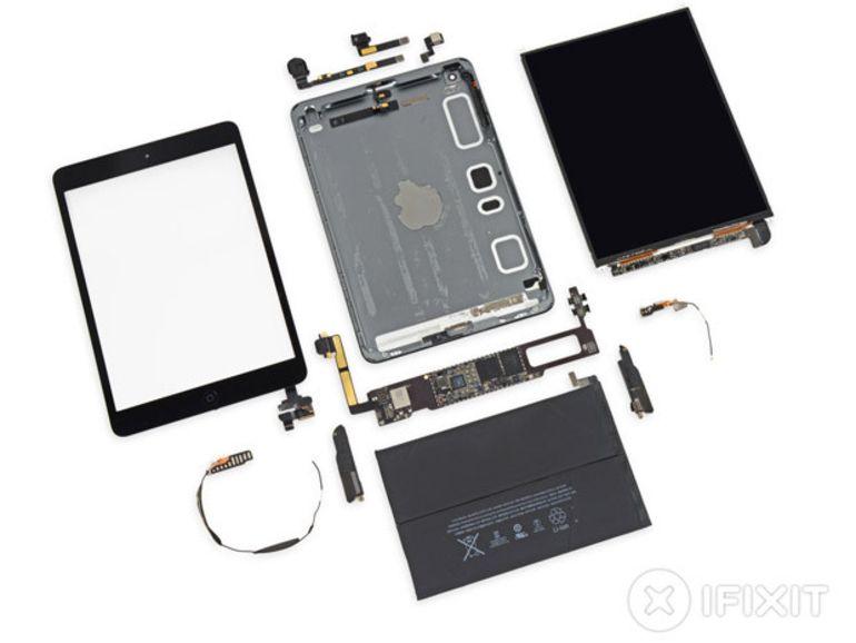 L'iPad mini Retina pas facile à démonter et réparer