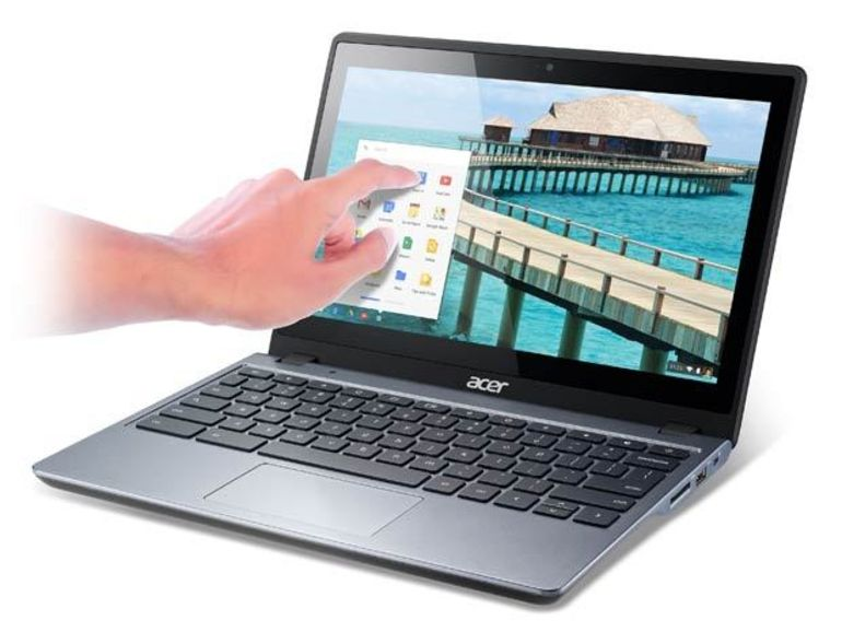 Le Chromebook C720 se décline en version tactile avec le C720P