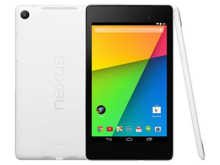 Sony Z Ultra de Sony, LG G Pad Google Play Edition et une Nexus 7 blanche sur le Play Store