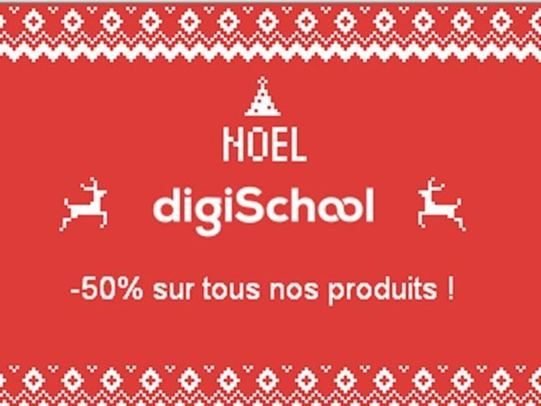 Bon plan applications Android et iOS : -50% chez Digischool