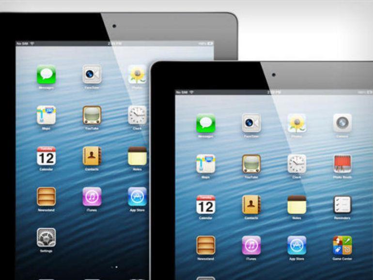 L'iPad Pro serait doté d'un écran limité à une diagonale de 12,2 pouces