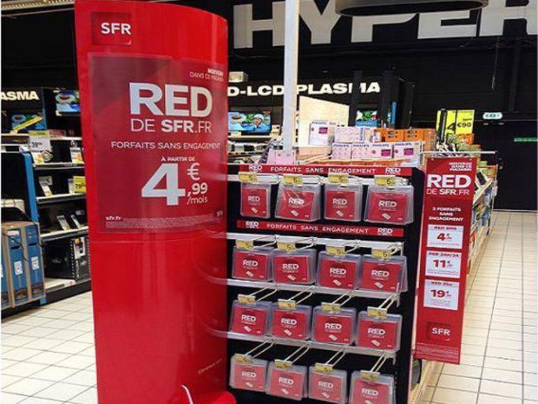 SFR apporte la 4G à un forfait RED intégrant YouTube en illimité