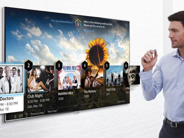 CES 2014 : Samsung affine la reconnaissance de mouvement de ses téléviseurs