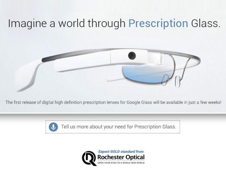 Les Google Glass bientôt compatibles avec les verres correcteurs