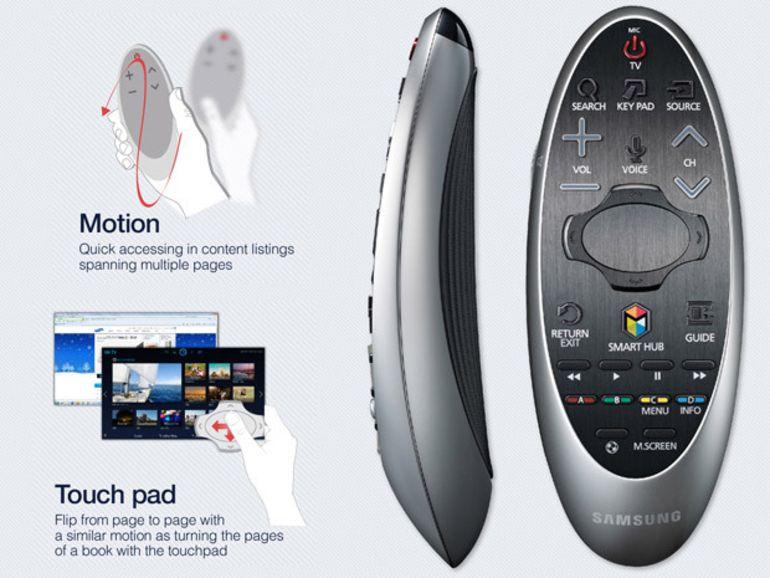 CES 2014 : Samsung dévoile la nouvelle télécommande de ses téléviseurs HD