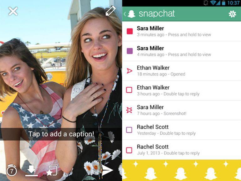 Appels vidéo et IM pour Snapchat